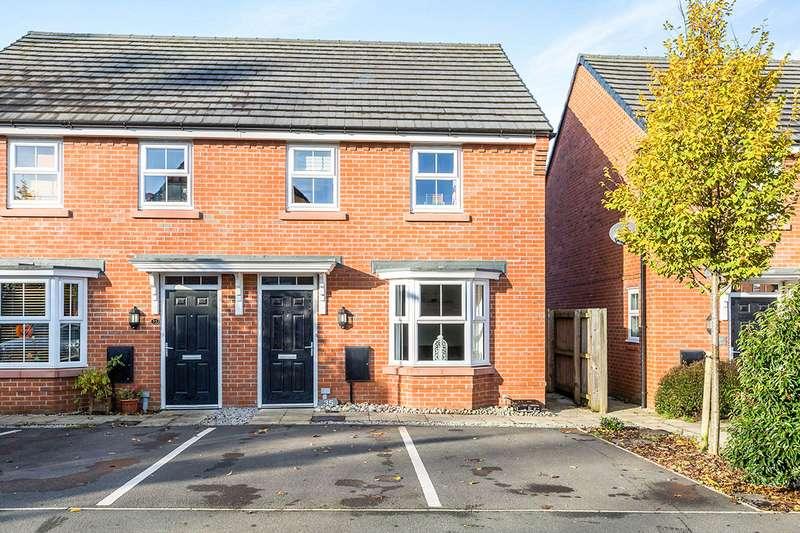 3 Bedrooms Semi Detached House for sale in Mosses Farm Road, Longridge, Preston, Lancashire, PR3