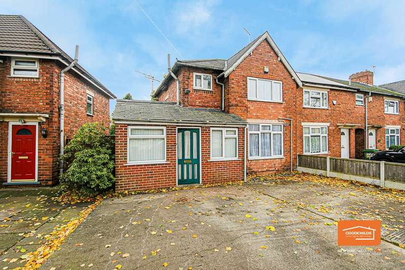 2 Bedrooms End Of Terrace House for sale in Webster Road, Walsall, WS2 7AW