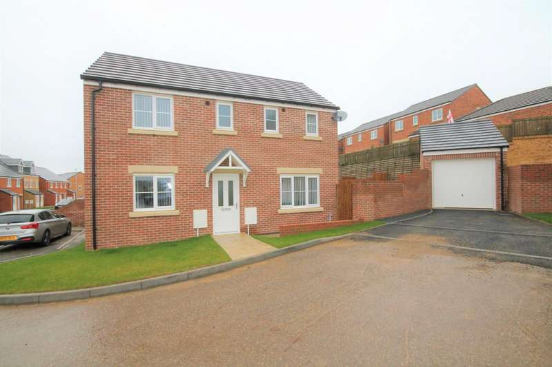 3 Bedrooms Detached House for sale in Peppercorn Close, Shildon