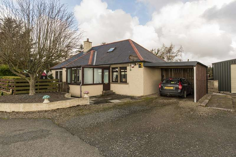 2 Bedrooms Bungalow for sale in King Edward, Banff, Aberdeenshire, AB45 3PS