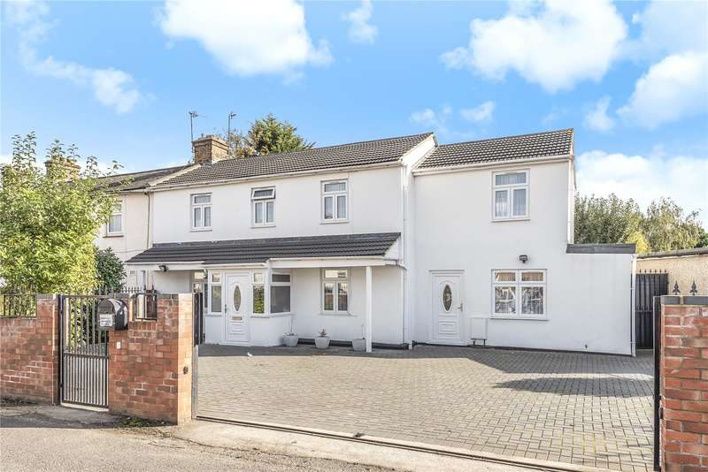 4 Bedrooms Semi Detached House for sale in Drenon Square, Hayes, Middlesex, UB3