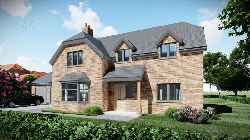 5 Bedrooms Detached House for sale in Plot 3, Highfields, Louth, LN11 9XZ