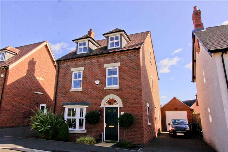 4 Bedrooms Detached House for sale in Graves Way, Anstey