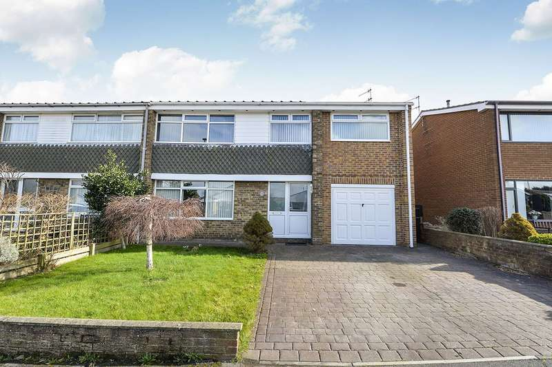4 Bedrooms Semi Detached House for sale in St. Andrews Road, WHITBY, North Yorkshire, YO21