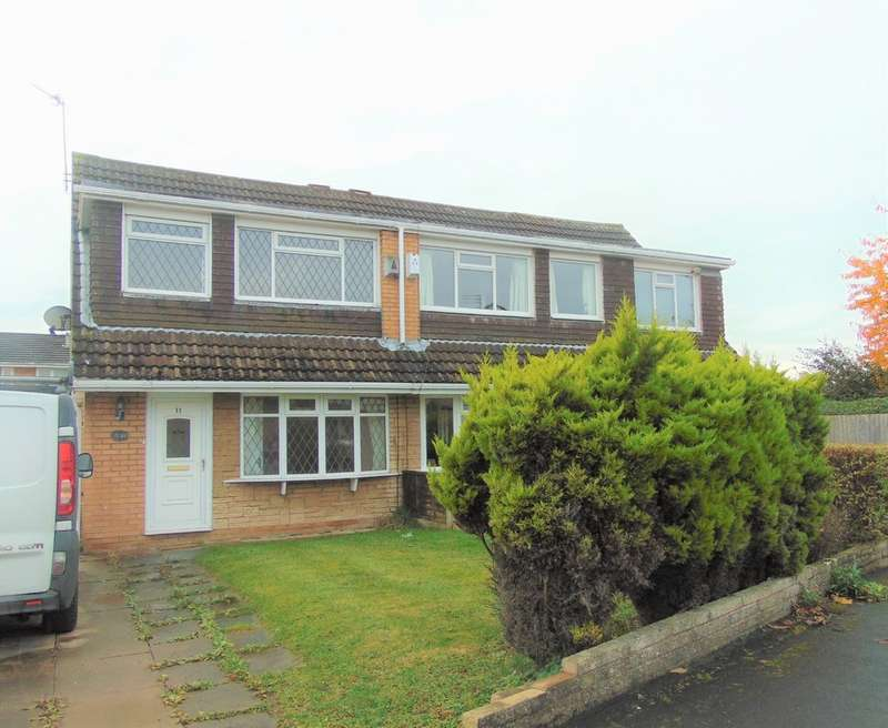 3 Bedrooms Semi Detached House for sale in Otterburn Close, Moreton CH46