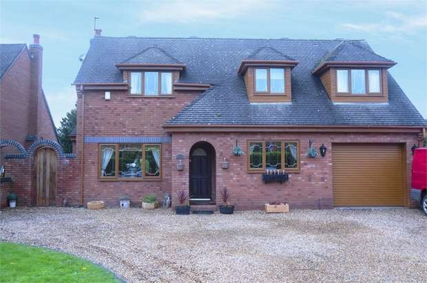 4 Bedrooms Detached House for sale in Hassall Green, Hassall Green, Sandbach, Cheshire