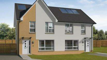 3 Bedrooms Semi Detached House for sale in Laburnum Lea, Laburnum Road, Uddingston