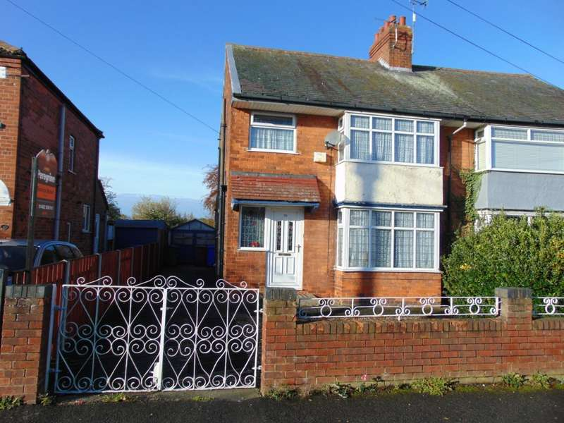 3 Bedrooms Semi Detached House for sale in Golf Links Road, Hull, HU6