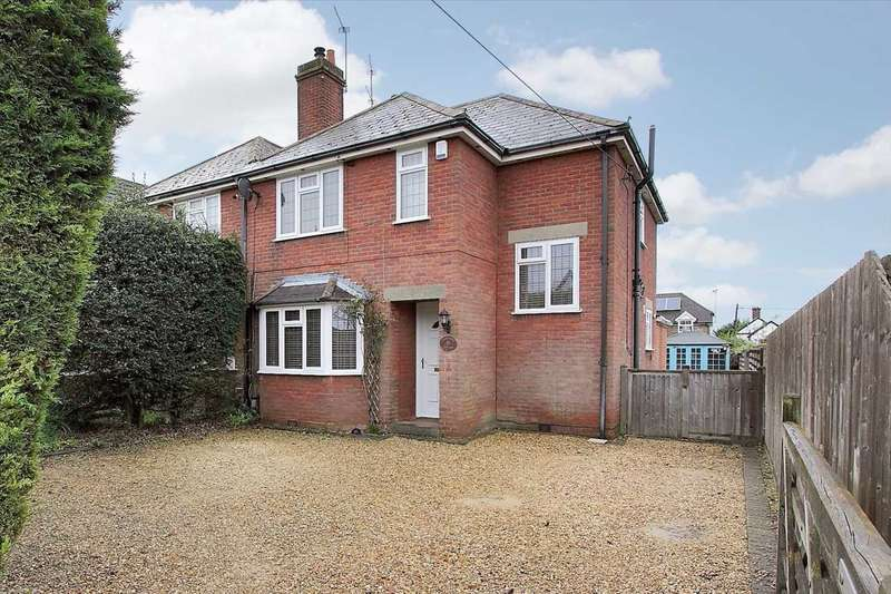 3 Bedrooms Semi Detached House for sale in Dunmow Road, Andover