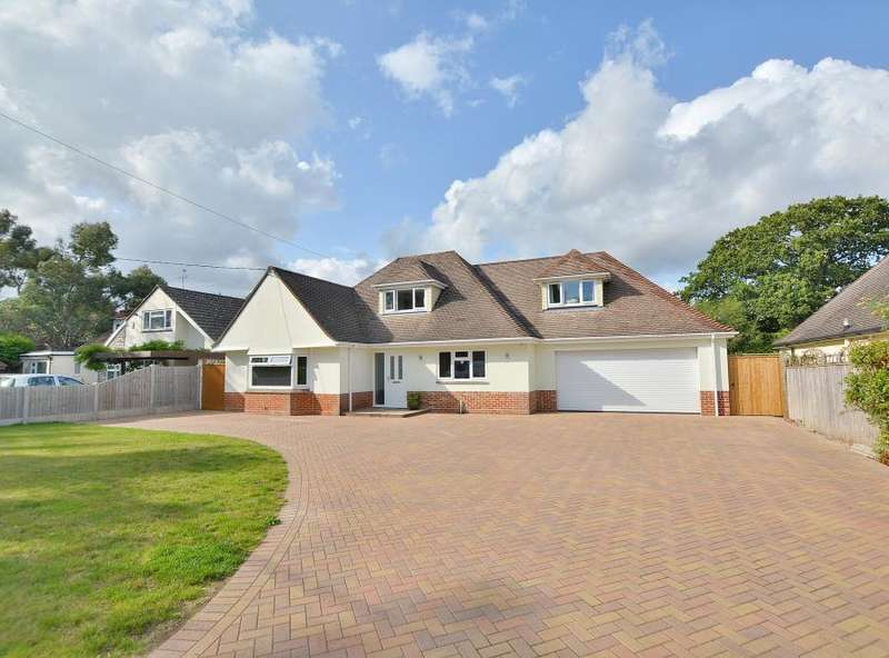 4 Bedrooms Detached House for sale in Chine Walk, West Parley, Dorset, BH22 8PU
