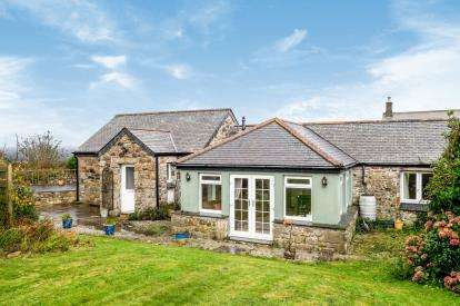 3 Bedrooms Barn Conversion Character Property for sale in Church Road, Ludgvan, Penzance