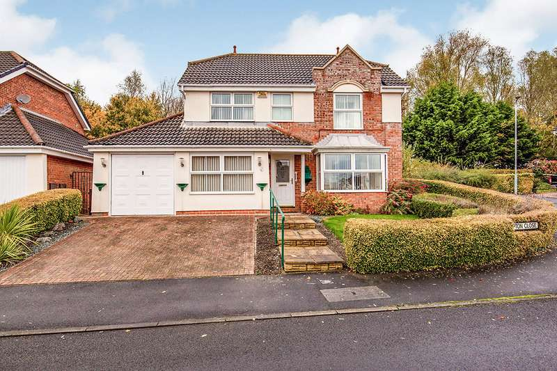 4 Bedrooms Detached House for sale in Kempton Close, Newton Aycliffe, Durham, DL5