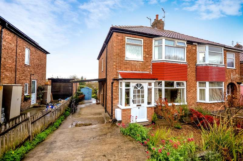 3 Bedrooms Semi Detached House for sale in Newland Park Drive, York, YO10 3HR