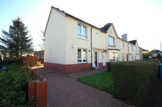 3 Bedrooms End Of Terrace House for sale in Carleith Quadrant, Drumoyne, G51