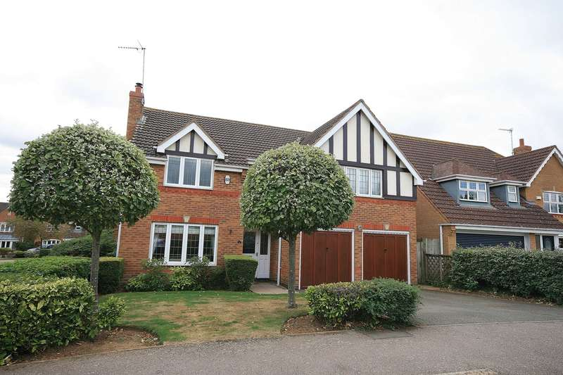 5 Bedrooms Detached House for sale in Woodgate Road, Wootton, Northampton, NN4