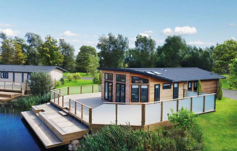 2 Bedrooms Lodge Character Property for sale in Glendevon Country Park, Perthshire