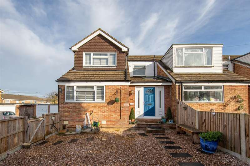 3 Bedrooms End Of Terrace House for sale in Churchill Road, Dunstable, Bedfordshire