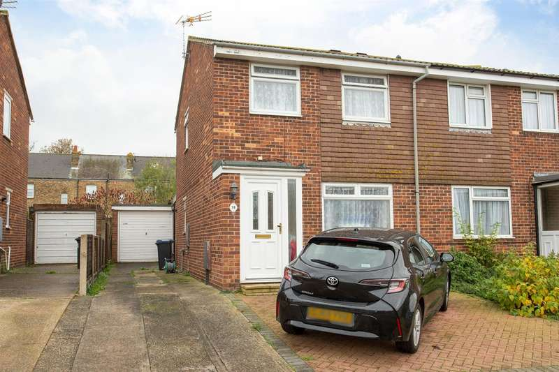 3 Bedrooms Semi Detached House for sale in Sewell Close, BIRCHINGTON