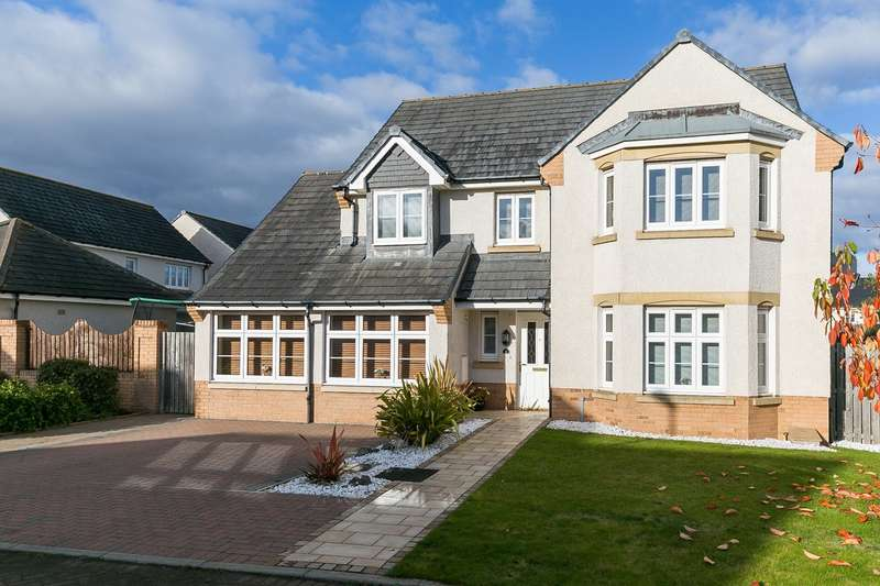 5 Bedrooms Detached House for sale in Burnbrae Loan, Bonnyrigg, EH19