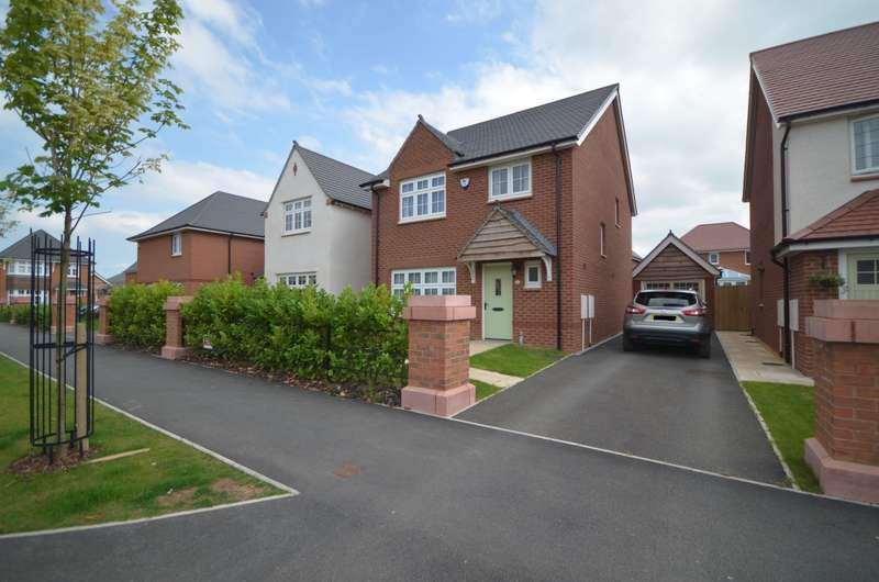 4 Bedrooms Detached House for rent in Alanbrooke Road, Saighton, Chester