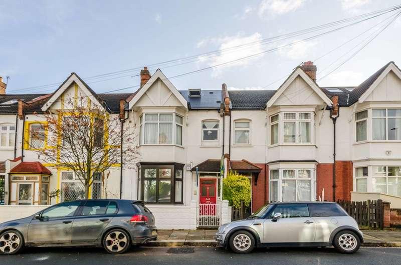 4 Bedrooms Maisonette Flat for sale in Ribblesdale Road, Furzedown, Furzedown, SW16