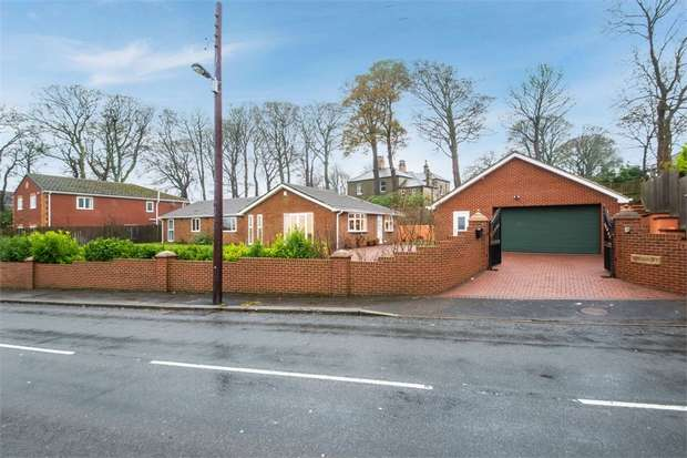 4 Bedrooms Detached Bungalow for sale in High West Road, Crook, Durham