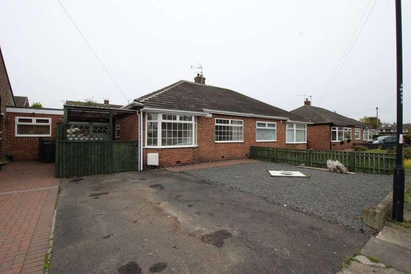 2 Bedrooms Semi Detached Bungalow for sale in Worcester Way, Wideopen, NE13