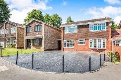 4 Bedrooms Link Detached House for sale in Barnfordhill Close, Oldbury, West Midlands
