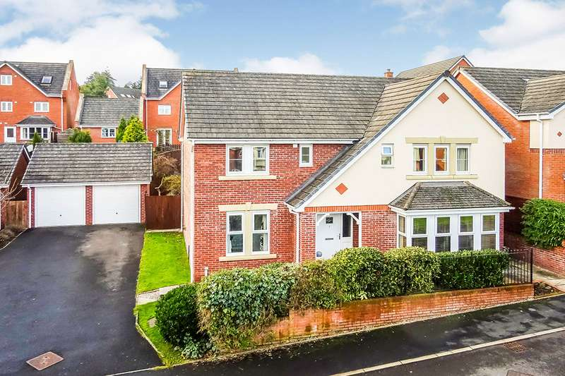 4 Bedrooms Detached House for sale in Lower Fawr, Oswestry, Shropshire, SY11