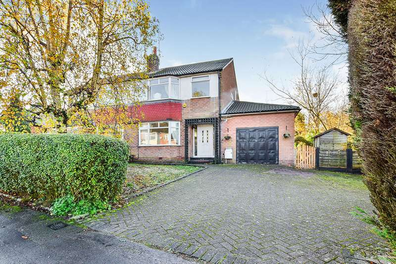 3 Bedrooms Semi Detached House for sale in Chiltern Avenue, Macclesfield, Cheshire, SK11