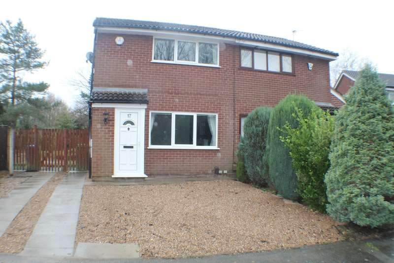 2 Bedrooms Semi Detached House for sale in Dove Close, Warrington, Cheshire, WA3