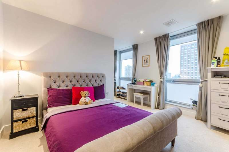 2 Bedrooms Flat for sale in Jessop Building, E14, Tower Hamlets, E14