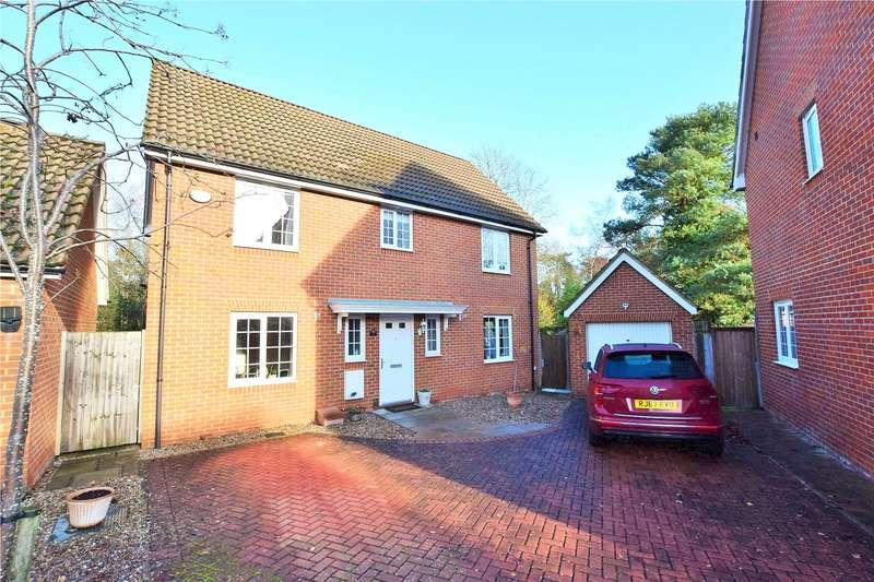 4 Bedrooms Detached House for sale in Wayside, Winnersh, Wokingham, Berkshire, RG41