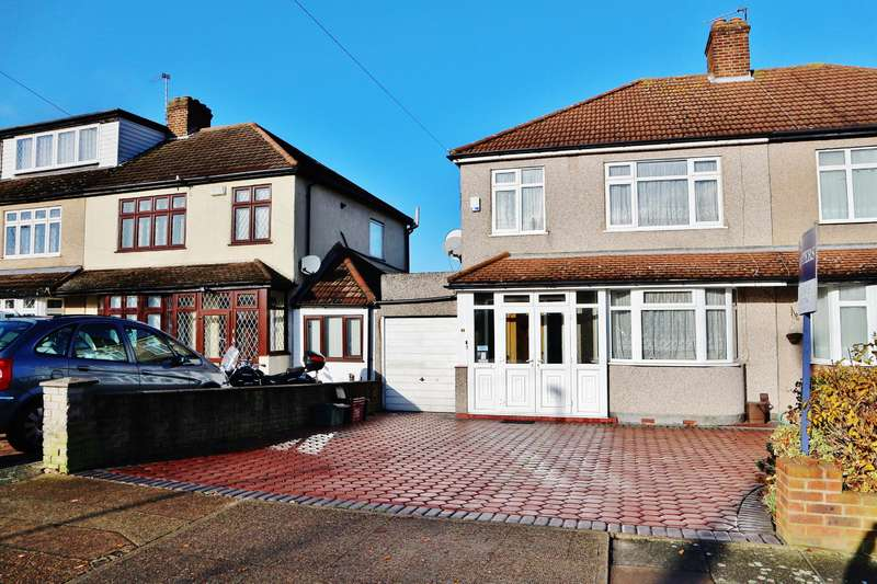 3 Bedrooms Semi Detached House for sale in Stapleton Road, Bexleyheath, Kent, DA7 5QQ