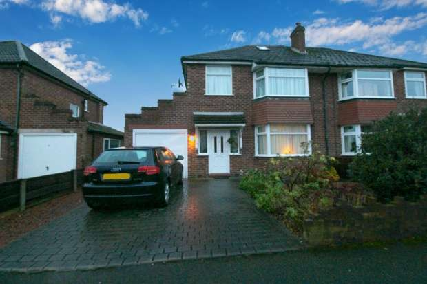 4 Bedrooms Semi Detached House for sale in Irwin Drive, Handforth, Cheshire, SK9 3JS