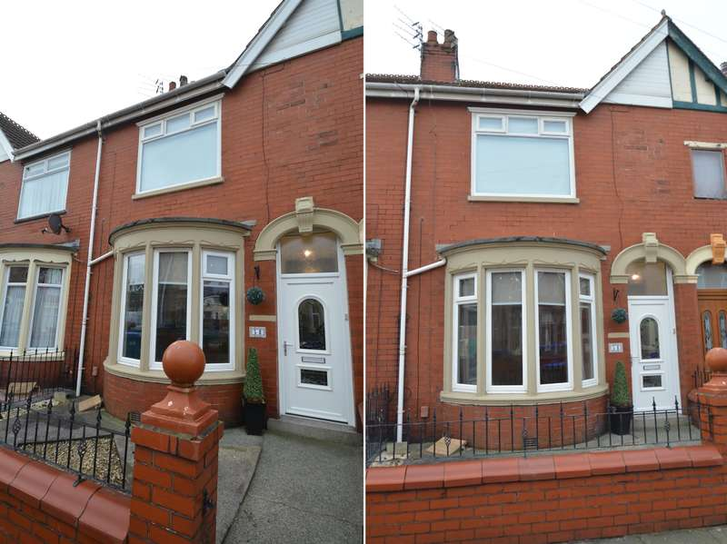 3 Bedrooms Terraced House for sale in Orchard Avenue, Blackpool, Lancashire, FY4 2NY