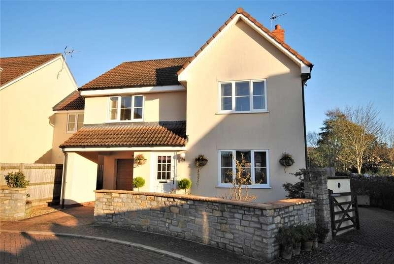 4 Bedrooms Detached House for sale in Hopwoods Corner, Cheddar