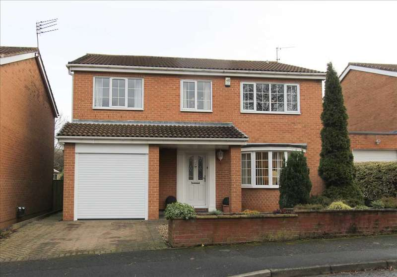 5 Bedrooms Detached House for sale in Yarmouth Drive, Westwood Grange, Cramlington