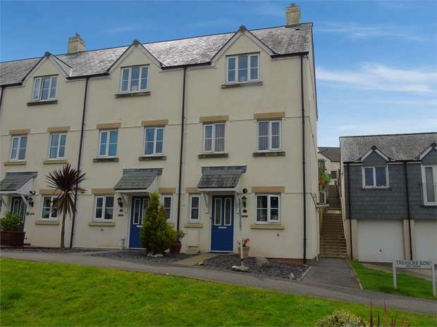 4 Bedrooms Terraced House for sale in Treasure Row, Par, Cornwall