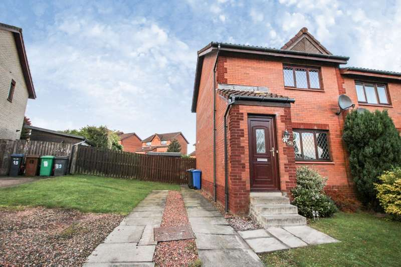 2 Bedrooms Semi Detached House for sale in Moidart Drive, Glenrothes, Fife, KY7