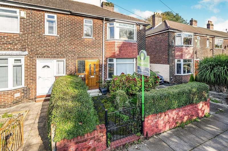 3 Bedrooms End Of Terrace House for sale in Cromwell Road, Swinton, Manchester, Greater Manchester, M27
