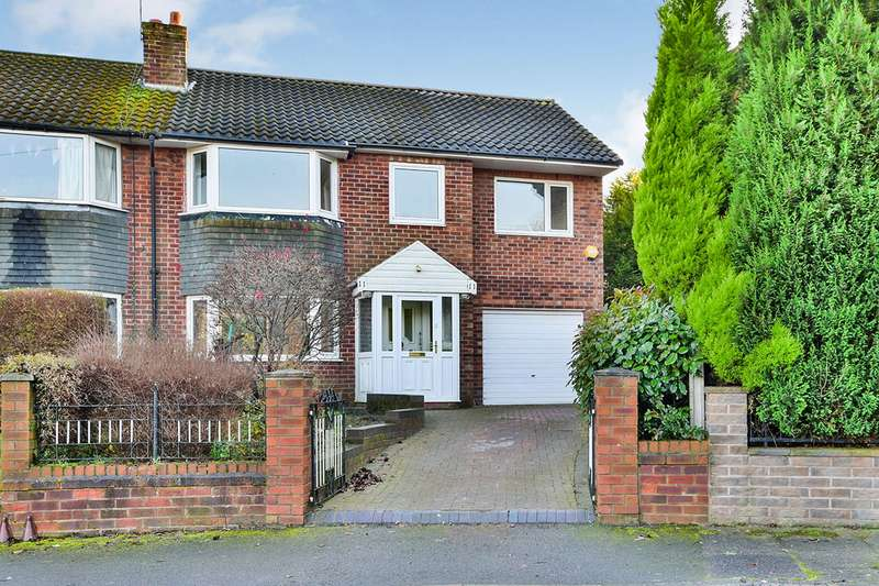 4 Bedrooms Semi Detached House for sale in Newlands Road, Macclesfield, Cheshire, SK10