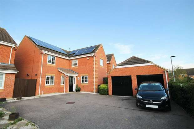 4 Bedrooms Detached House for sale in Brabazon Close, Shortstown, Bedford