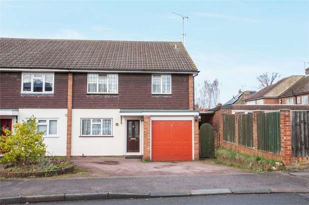 4 Bedrooms Semi Detached House for sale in Alpha Road, Hutton, Brentwood, Essex