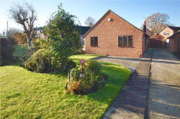 3 Bedrooms Detached Bungalow for sale in Main Road, Higher Kinnerton, Chester