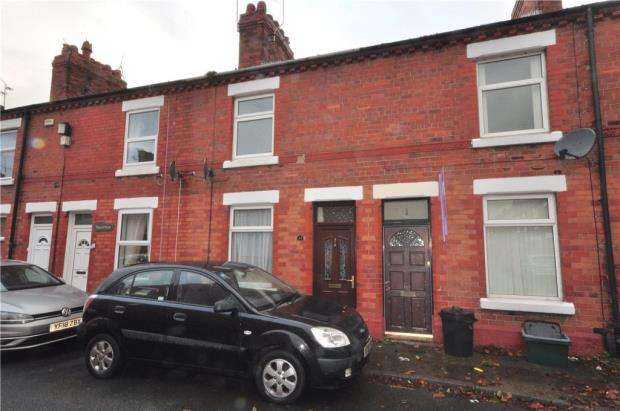 2 Bedrooms Terraced House for sale in Edna Street, Chester, Cheshire