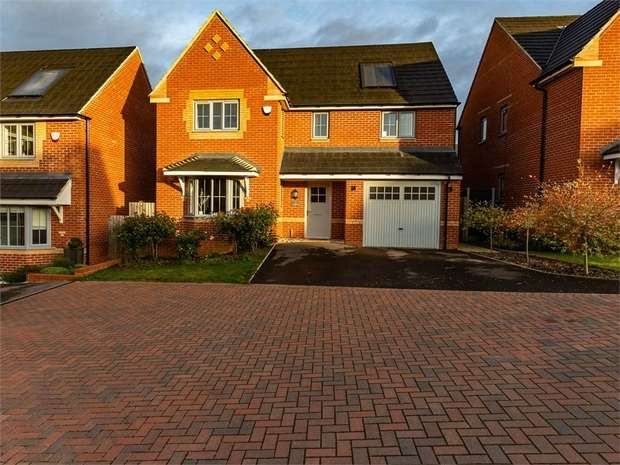 4 Bedrooms Detached House for sale in Falcon Road, Corby, Northamptonshire