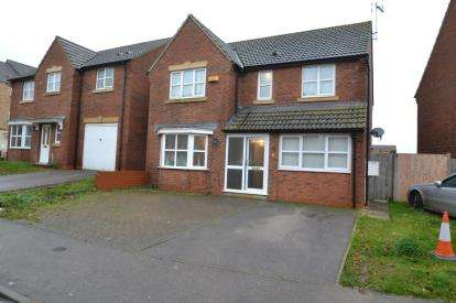 5 Bedrooms Detached House for sale in Carlisle Close, Corby, Northamptonshire, Na