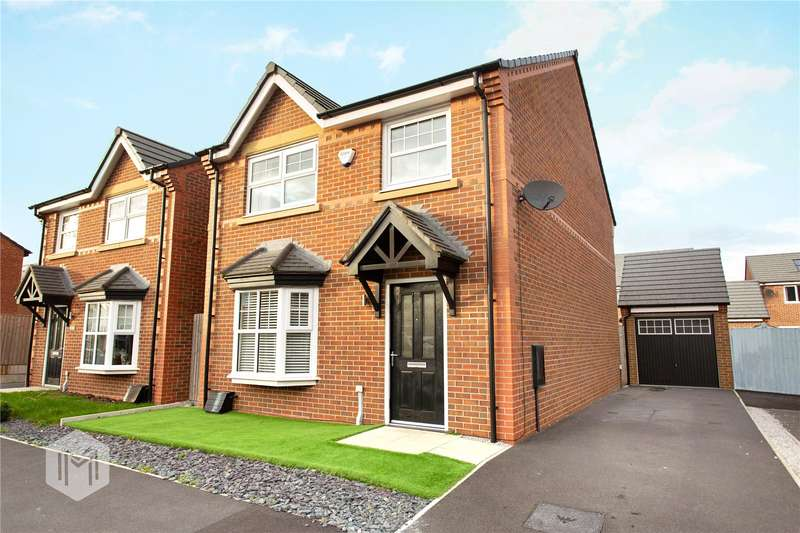 4 Bedrooms Detached House for sale in Carroll Close, Leigh, Greater Manchester, WN7