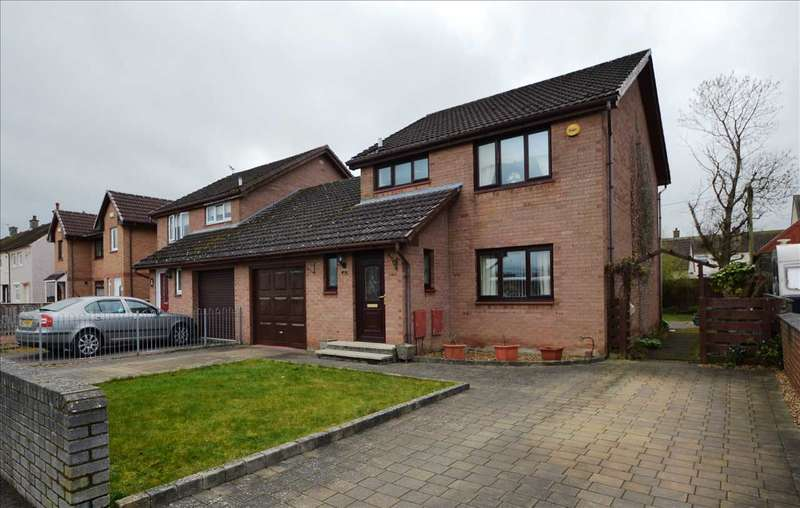 3 Bedrooms Detached House for sale in Broomfield Road, Larkhall